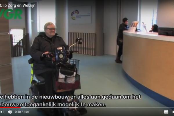 Gezondheidscentrum de Randweg dat aandacht heeft bij inrichting pand en dienstverlening voor mensen met een beperking